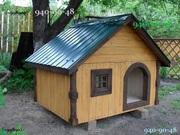 Собаки и щенки: домики и будки для них,  вольеры на заказ. Конура - ЭКС